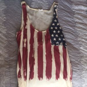 Altar'd State American Flag Tank Top